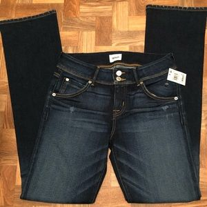 Gorgeous new with tags flare Hudson jeans, size 28